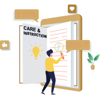 Care and instruction